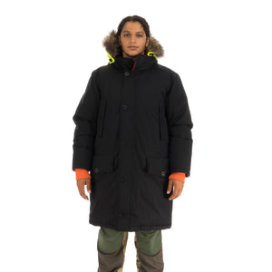 Griffin | Sleeping Bag Coat Black - Concrete
