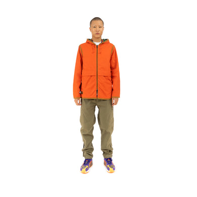 Element x Nigel Cabourn Alder Reversible Blanket Fleece Jacket Orange/Multicolor
