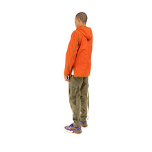 Load image into Gallery viewer, Element x Nigel Cabourn Alder Reversible Blanket Fleece Jacket Orange/Multicolor - Concrete