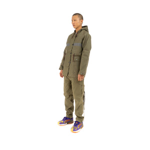 Element x Nigel Cabourn Cameraman Parka Military Green