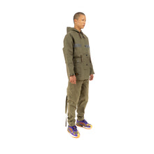 Load image into Gallery viewer, Element x Nigel Cabourn Cameraman Parka Military Green