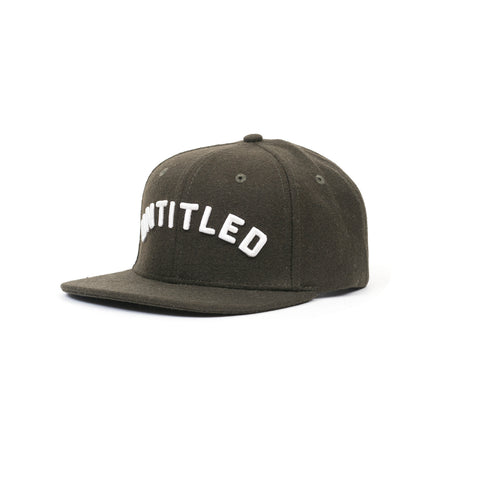 Untitled Merino Wool Arc Snapback Forest