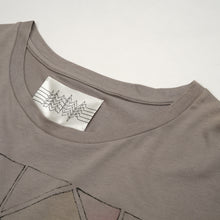 Load image into Gallery viewer, Ground Zero Kraft Unisex Printed Tee Grey + CD