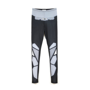 Ground Zero Birkin Digital Printed Legging Black