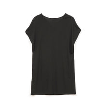 Afbeelding in Gallery-weergave laden, Ground Zero No More Crossover Drappy Tee Dress Blk