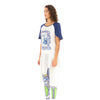 Ground Zero Blue Master K.Frame T-Shirt Dress White