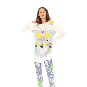 Ground Zero Transformer Unisex Printed Tee Multi