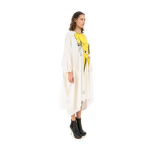 Load image into Gallery viewer, Ground Zero Yellow Bruce L. Oversize T-Shirt Cape