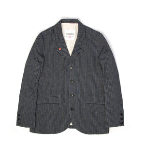 Hansen | 'Aksel' Five Button Blazer Indigo - Concrete