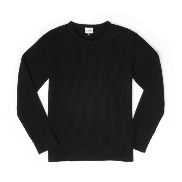 Hansen | 'Verner' Crewneck Sweater Black - Concrete