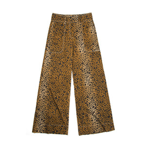 Hope Mass Trouser Leopard - Concrete