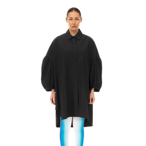 Henrik Vibskov | Moment Shirtdress Black - Concrete