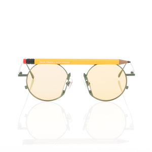 Henrik Vibskov | x Gentle Monster Pencil Glasses Yellow Pen - Concrete