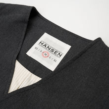 Load image into Gallery viewer, Hansen 'Daniel' Classic Waistcoat Graphite