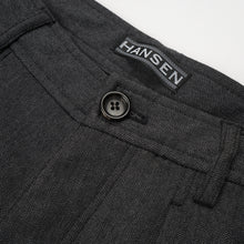 Load image into Gallery viewer, Hansen 'Frank' Regular Fit Trousers Graphite