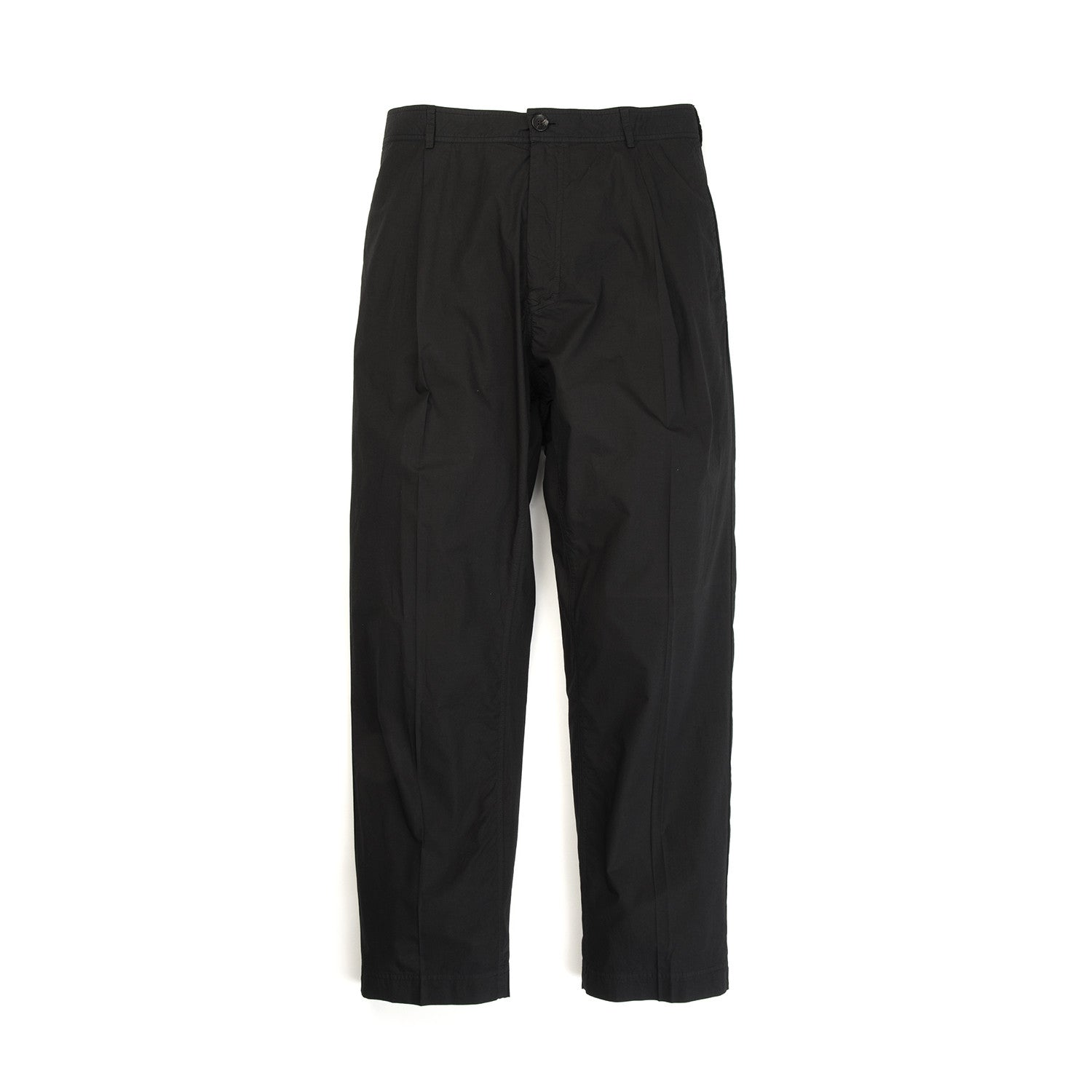 Hansen Eigil Wide Leg Trousers Black