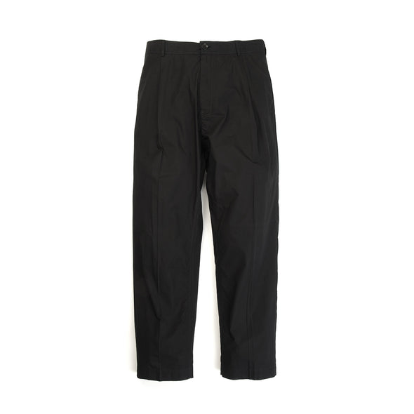 Hansen | 'Eigil' Wide Leg Trousers Black - Concrete