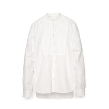 Load image into Gallery viewer, Hansen 'Valmar' Collarless Bib Shirt White