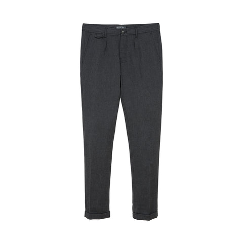 Hansen 'Frank' Regular Fit Trousers Graphite