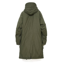 Load image into Gallery viewer, Hansen 'Bjarne' Hooded Wool Lined Coat Tech Army