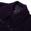 Haversack Wool Milano Rib Jacket Purple - 471801/62