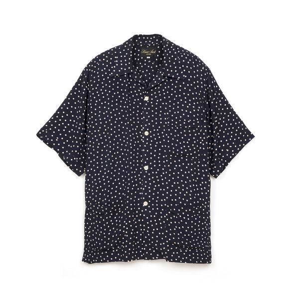 Haversack Dot Print Shirt Navy - 821808/59