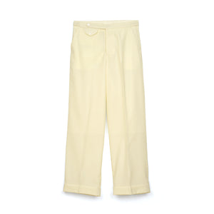 Haversack | Typewriter Pants White 861804-01 - Concrete