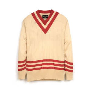Haversack Knit Beige / Red - 831900/31