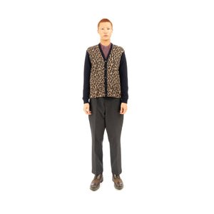 Haversack | Cardigan 411121-34 - Concrete