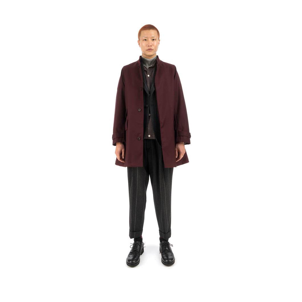 Haversack Coat Burgundy - 471930-26