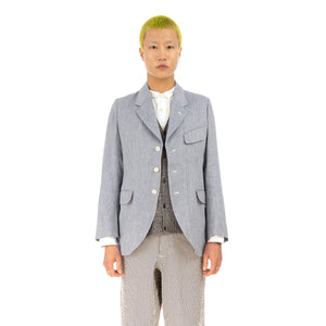 Haversack | Herringbone Jacket 871823-55 - Concrete