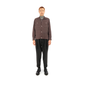 Haversack | Shirt Purple 421904-26 - Concrete