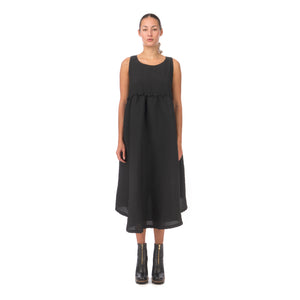 Henrik Vibskov | Fling Dress Black Frills - Concrete