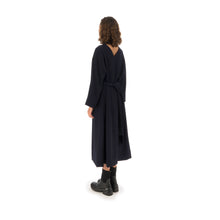將圖像加載到畫廊查看器中Henrik Vibskov | Collect Dress Navy - Concrete