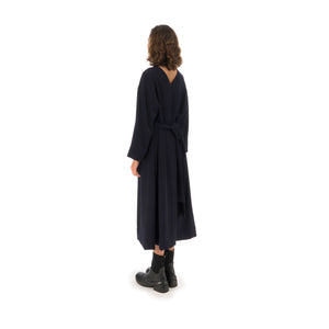Henrik Vibskov | Collect Dress Navy - Concrete
