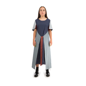 Henrik Vibskov | Onionÿ Dress Navy - Concrete