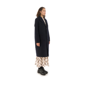 Hope Ambition Coat Dark Navy - Concrete