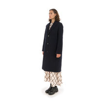 將圖像加載到畫廊查看器中Hope Ambition Coat Dark Navy - Concrete