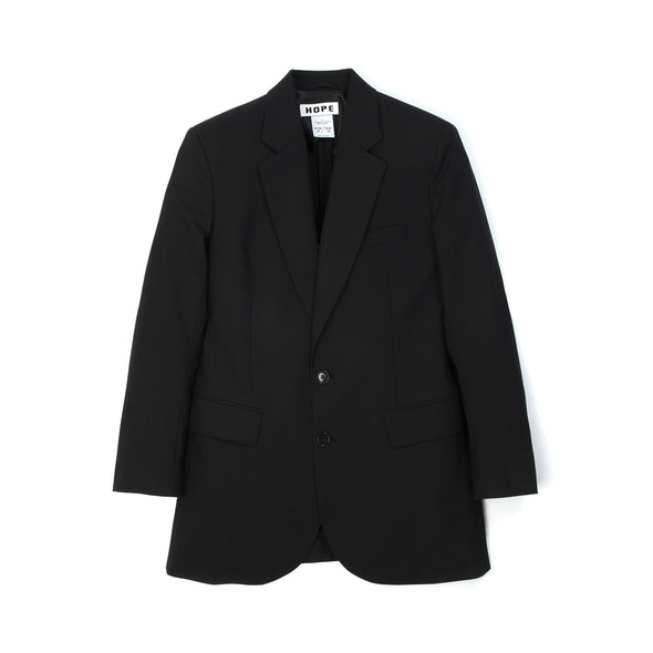 Hope Unisex Strong Blazer Black - Concrete