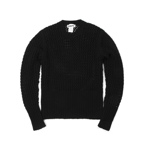 Hope Unisex Lynx Sweater Black