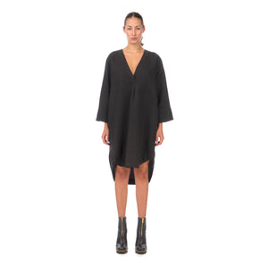Hope Dose Dress Black - Concrete