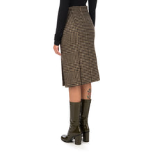 Afbeelding in Gallery-weergave laden, Hope | Pipe Skirt Beige Duo Check