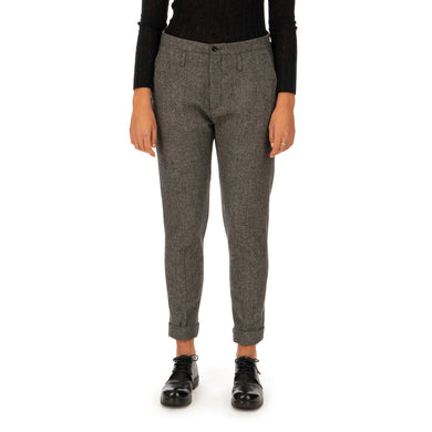 Hope | Law Trousers Charcoal Melange - Concrete