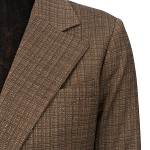 Hope | Dux Blazer Brown Melange - Concrete