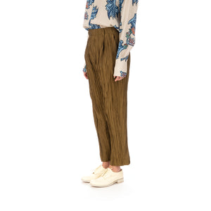 Hope | Alta Trousers Oak Brown - Concrete