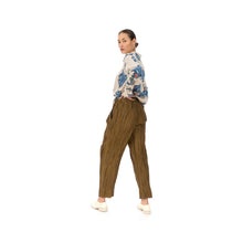 將圖像加載到畫廊查看器中Hope | Alta Trousers Oak Brown - Concrete