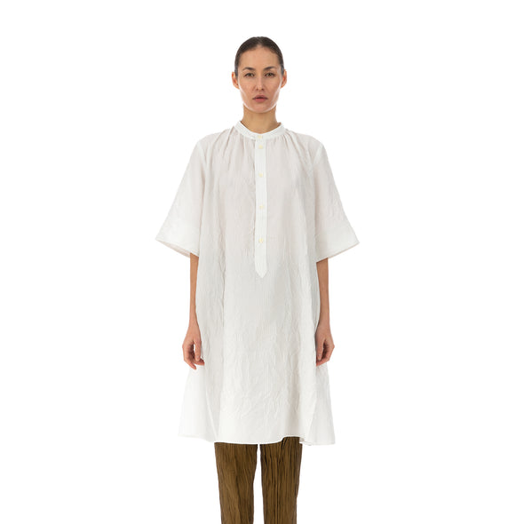 Hope | Field Dress White Stripe - Concrete
