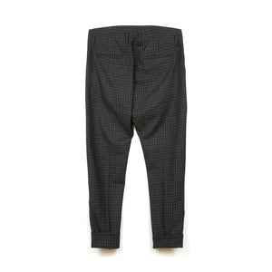 Hope Law Trousers Grey Check - Concrete