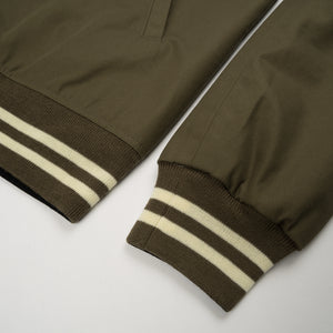 Human Made Reversible Jacket Olive Drab - Concrete