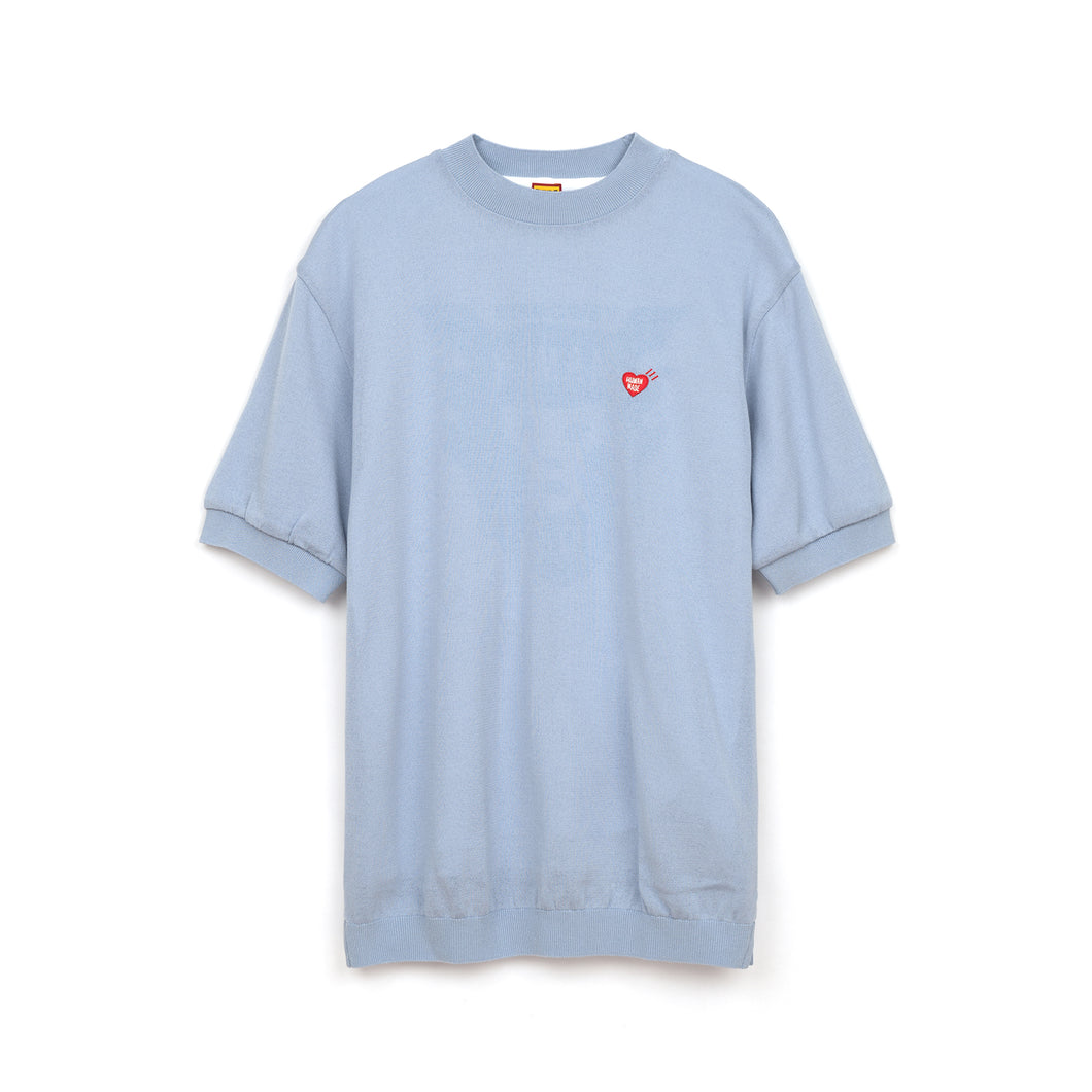Human Made Short Sleeve Knit Blue